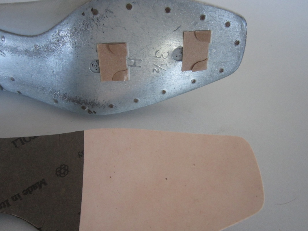 Before application of the insole